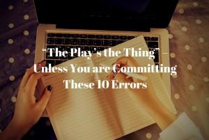 Top Screenwriting Errors