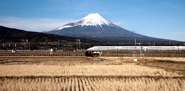 新幹線に乗って里帰り