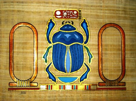 Amulets Scarabs And Crystals