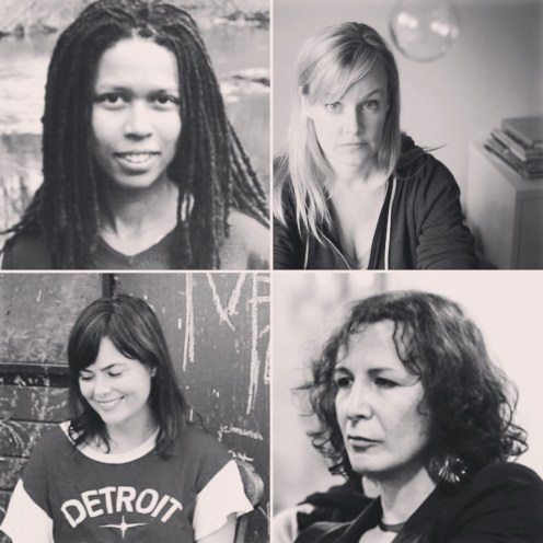 Evie Shockley, Suzanne Buffam, Damian Rogers, Trish Salah