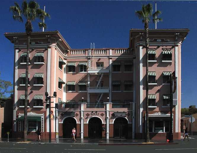 The Hillview Hollywood Apartments At 6533 Blvd Built In 1917 To House Actors
