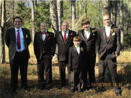 My Handsome Hoy Boys! Zach, Matt, Richard, Mason, Max and Frank.