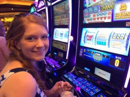 Ali and I had a lot of fun playing slots and blackjack!