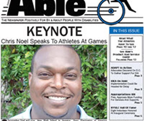 Able, the newspaper for, by and about the disabled