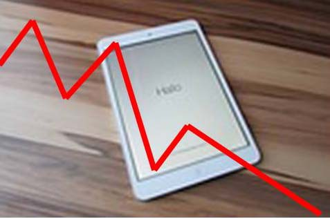 Changing Tide Print Book Sales Increase While Ebook Sales