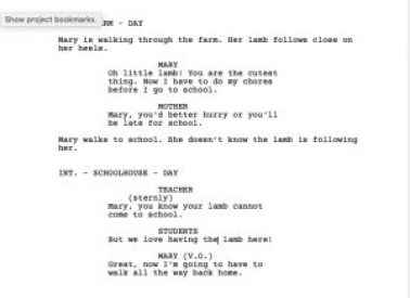 How to Create a Movie Script from a Book – By Linda Gray