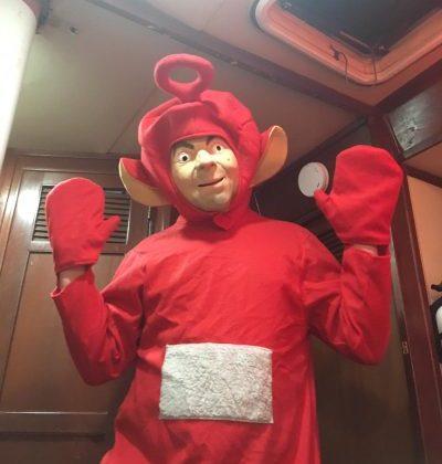 Max's Hilarious (or Disturbing???) Halloween Costume!