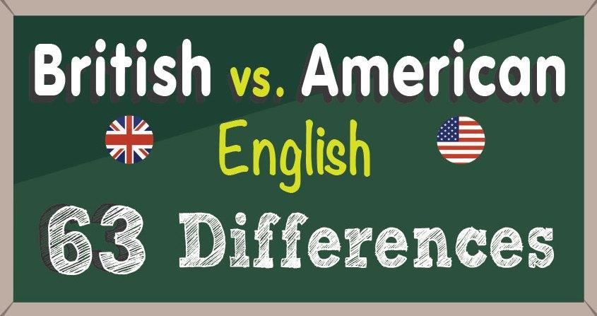British vs American English  Writers Write
