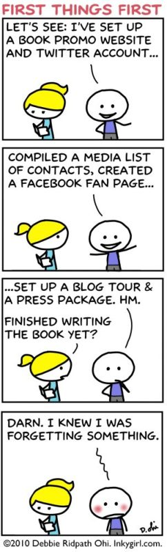 Comic:First Things First