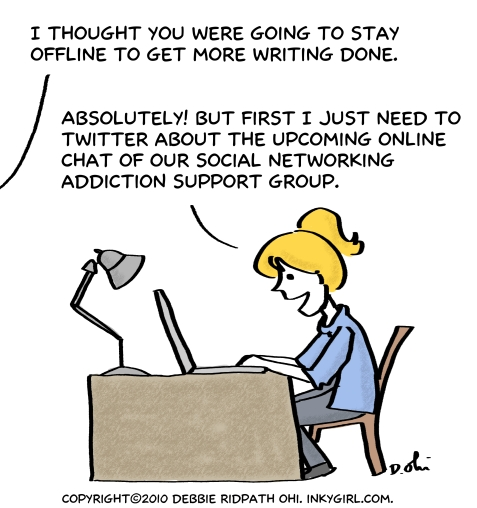 Comic: Social Networking Addiction Support Group