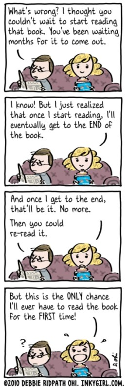 Comic: Only A Book Lover Would Understand