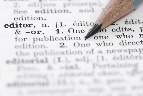 The Role of Editors: A Writer's Viewpoint