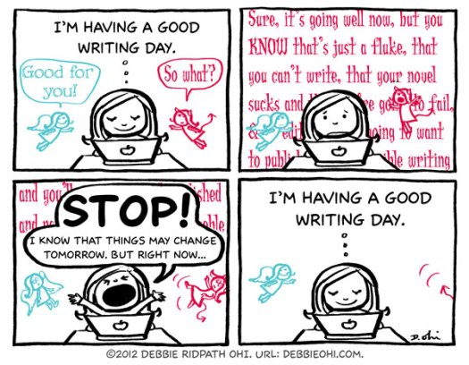 Writers: Enjoy Every Success, No Matter How Small