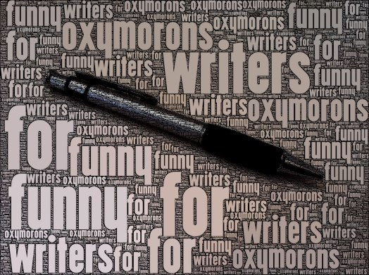Funny Oxymorons for Writers
