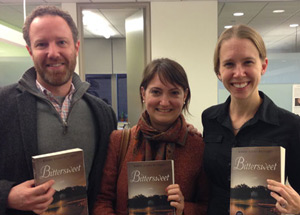 Dan Blank, Miranda Beverly-Whittemore, and Christine Kopprasch