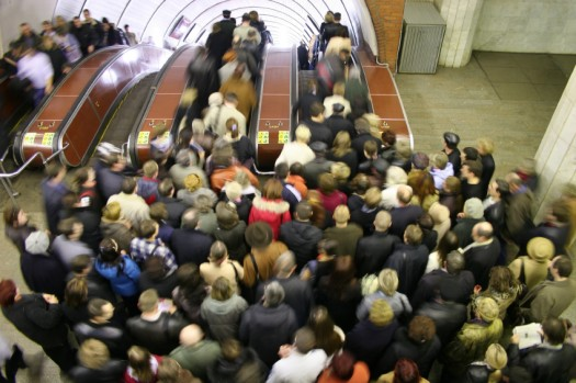 Image - iStockphoto: Paha_L / in the Moscow subway system