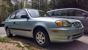 Bill Ferris' 2003 Hyundai Accent