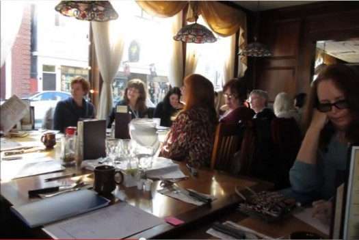 Method Writing (and Eating) with Brunonia Barry at the Witch's Brew Cafe