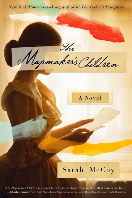 Take Five: Sarah McCoy and The Mapmaker's Children