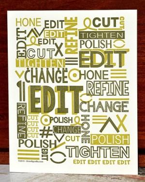 edit poster