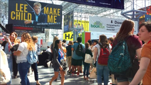 BEA proper was followed this year by a two-day BookCon that drew a total 18,000 fans of books (readers!) to the Javits Center. Image: Porter Anderson