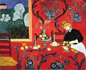 "Henri Matisse ""The Dessert. Harmony in Red"" 1908"