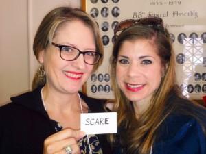 Sarah and Greer
