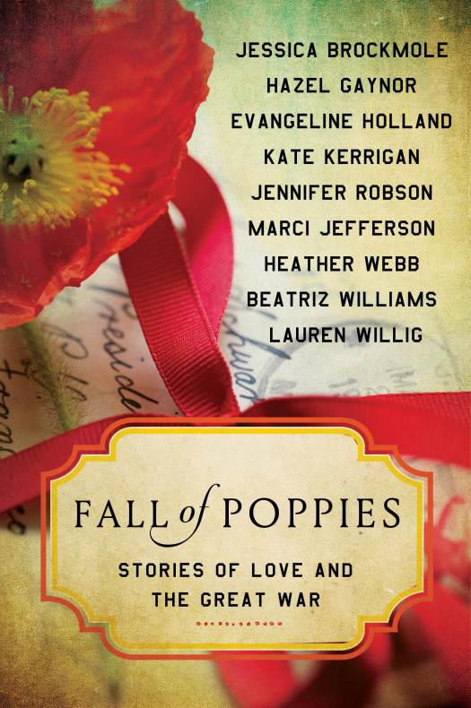 Take Five: Heather Webb and FALL OF POPPIES: Stories of Love and the Great War