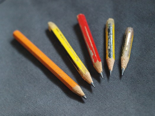 My Short Pencil Collection, by Hugo Cardoso at Flickr