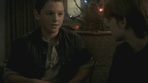Flashback: Dean (Ridge Canipe) and Sam (Colin Ford)