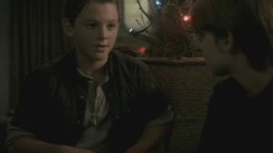 Flashback: Dean (Ridge Canipe) and Sam (Colin Ford)