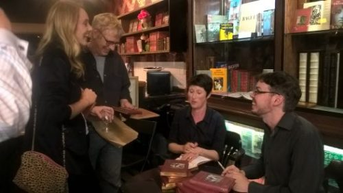 Happy authors, happy audience: at an Eagle Books launch earlier this year