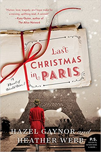 Take Five with Heather Webb: Last Christmas in Paris