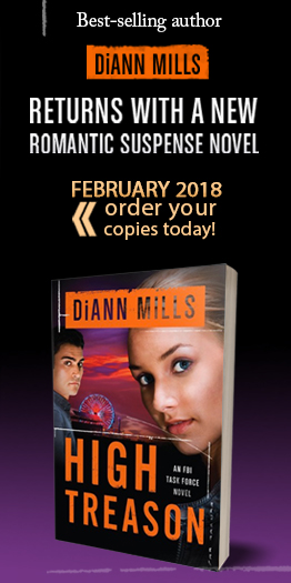Our thanks to author DiAnn Mills for supporting WU this month!