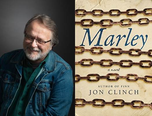 Author Jon Clinch and his new book, MARLEY