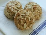 Almond-oat scones | writes4food.com