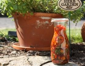 tomato salad dressing made in the sunshine | writes4food.com