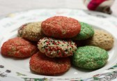 old-fashioned almond sugar cookies, perfect for Christmas baking | writes4food.com