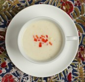 creamy corn soup recipe | writes4food.com