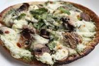 mushroom and 3-cheese pizza recipe | writes4food.com