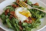 salade lyonnaise recipe | writes4food.com