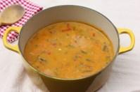 recipe for low-fat, low-calorie vegetable soup
