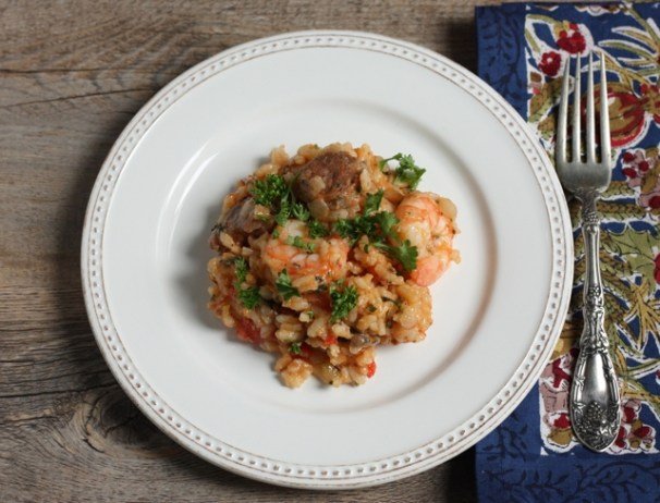 jambalaya-style risotto recipe   writes4food.com