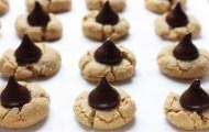almond butter dark chocolate blossom cookie recipe | writes4food.com