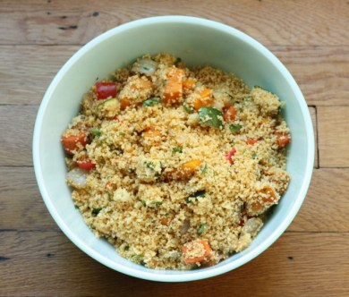couscous with roasted vegetables recipe   writes4food.com