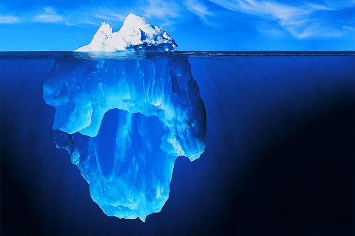 Something about icebergs, seasons and singleness