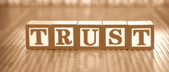 Something about trust