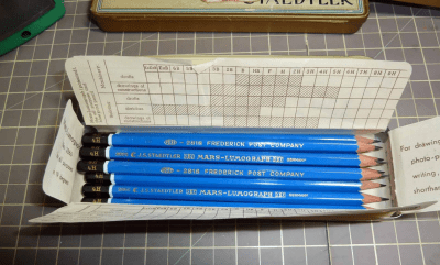 Something about 4H pencils