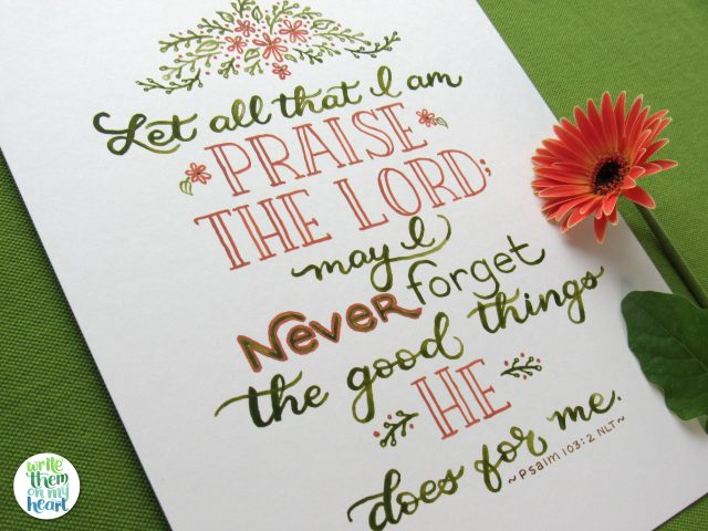 Psalms Archives - Write Them On My Heart