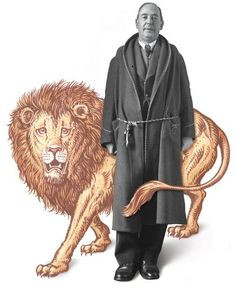 cs lewis and lion